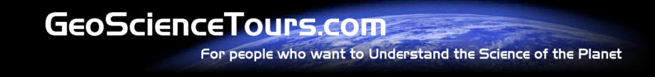 GeoScienceTours - For people who want to understand the Science of the Planet
